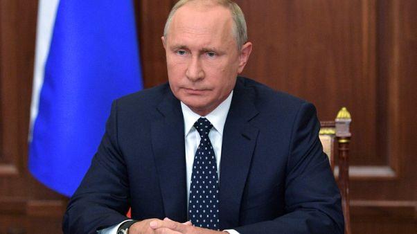 """بوتين يصف مقتل زعيم انفصالي في أوكرانيا بأنه جريمة """"خسيسة"""""""
