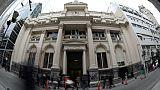 La banque centrale d'Argentine, à Buenos Aires, le 30 août 2018
