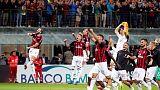 كوتروني يقود ميلانو للفوز 2-1 على روما بهدف قاتل