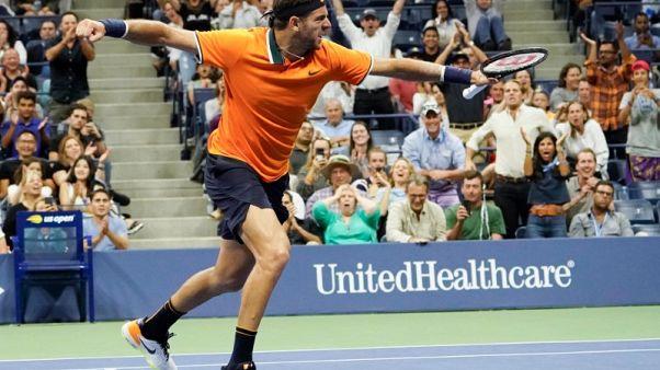 Del Potro eases past Verdasco into U.S. Open fourth round
