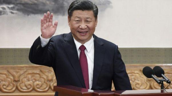 Le président chinois Xi Jinping à Pékin le 6 novembre 2017