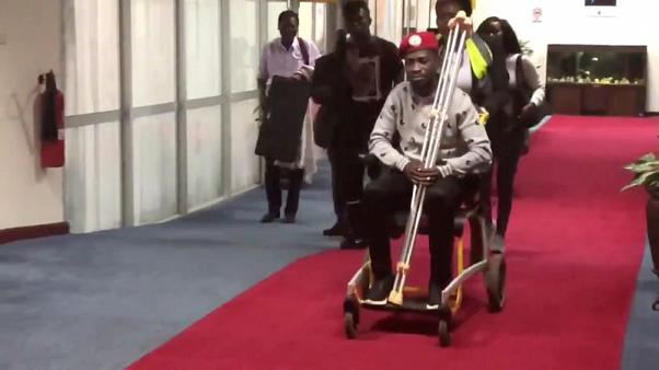 Ugandan opposition lawmaker heads to U.S. for medical treatment