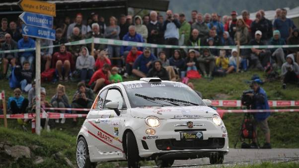 Campioni GF Motori corrono Rally Friuli
