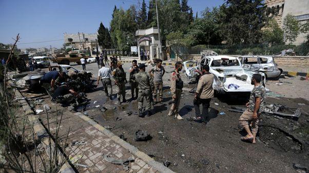 Blast strikes north Syria town
