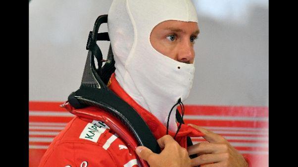 F1: Monza, a Vettel le ultime libere