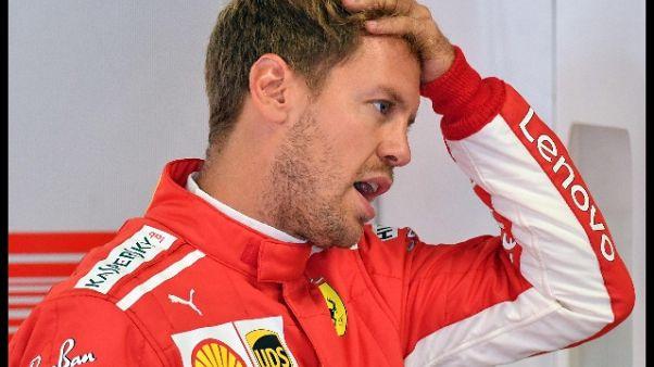 Monza: Vettel, mio giro non perfetto