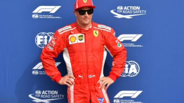 GP d'Italie: Räikkönen (Ferrari) en pole position