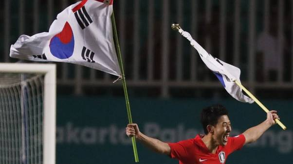 Korea's Asiad football gold secures military exemption for Son