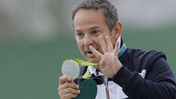 Tiro a volo:Pellielo vuole 8/a Olimpiade