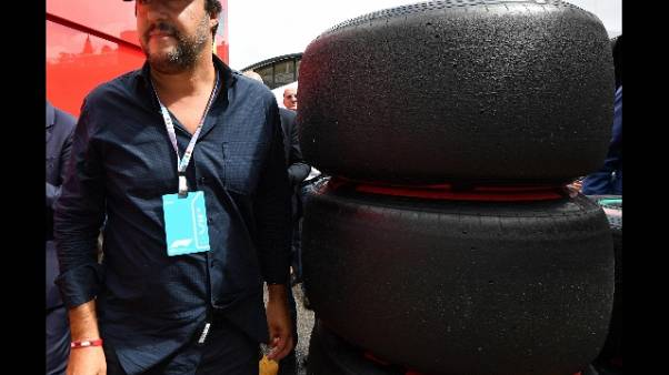 "F1: Salvini ""Ferrari? Andata benissimo"""