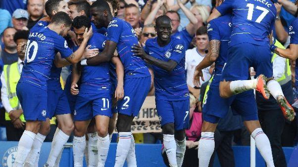 Chelsea non fallisce, 2-0 al Bournemouth