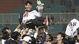 Giochi Asia:Corea oro calcio,Son no leva