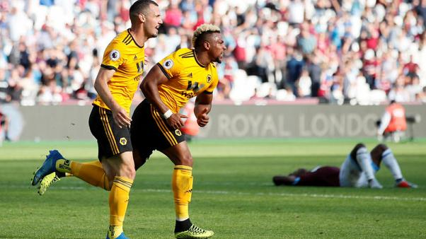 Traore's late strike gives Wolves win over West Ham