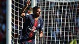 Ligue 1: le PSG évite le piège à Nîmes 4-2, but et carton rouge pour Mbappé