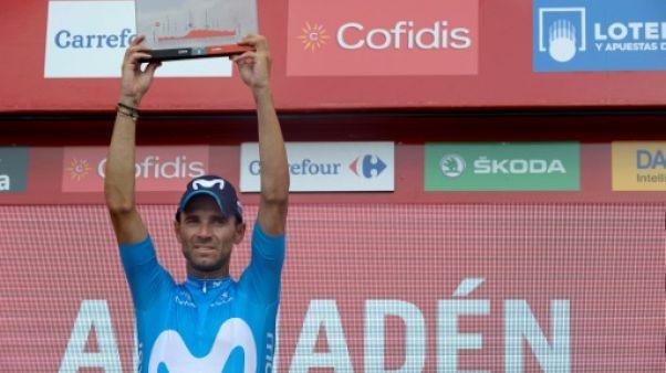 Tour d'Espagne: Valverde récidive et rêve de rouge