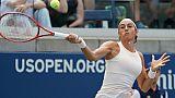 US Open: Garcia dévisse, Gasquet a rendez-vous avec Djokovic