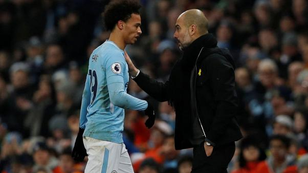 Guardiola denies any 'attitude' issue with left-out Sane