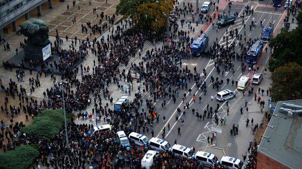 انتهاء احتجاجات مناهضي الفاشية ومؤيدي اليمين المتطرف بسلام في ألمانيا