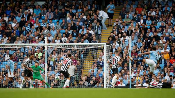Stunners from Sterling and Walker give City win over Newcastle