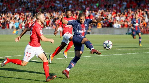 Mbappe scores stunner but sees red in PSG victory