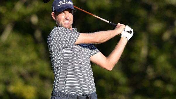 Golf - Simpson gatecrashes English party to take halfway lead