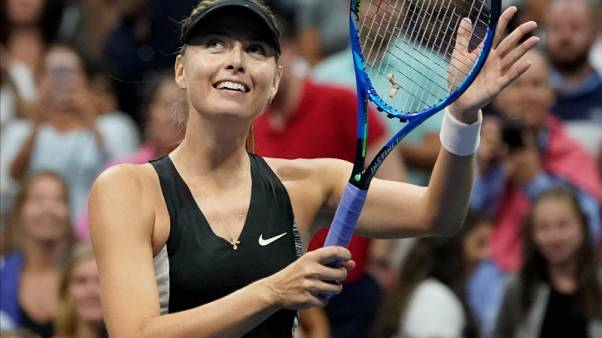 Working U.S. Open night shift fine with Sharapova