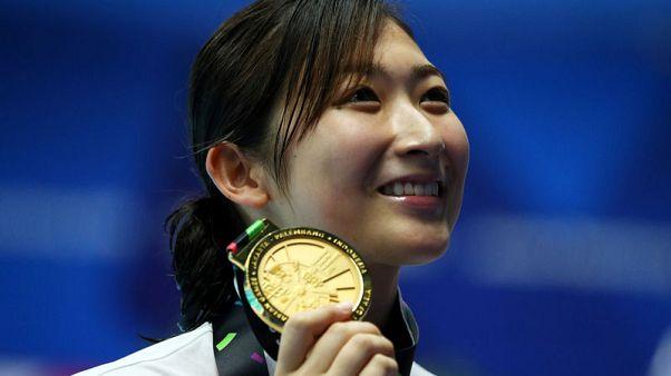ايكي فتاة اليابان الذهبية أول امرأة تتوج بلقب الأفضل في ألعاب آسيا