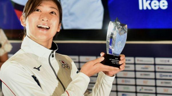 Jeux asiatiques: la nageuse japonaise Ikee, 1re femme meilleure athlète des Jeux