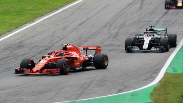 GP d'Italie: Hamilton et Vettel s'accrochent au premier tour