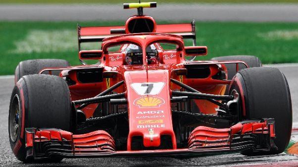 F1: pit stop Bottas, Raikkonen torna 1/o