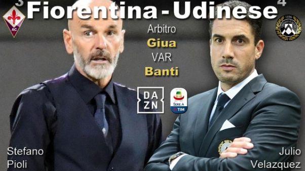 Fiorentina,mille tifosi scortano squadra