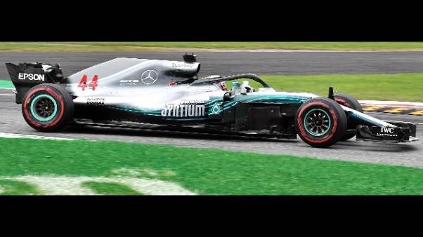 Gp Monza: fischi a Hamilton e Bottas