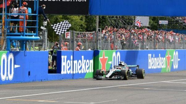 GP d'Italie: Hamilton (Mercedes) s'impose et prive Ferrari de victoire