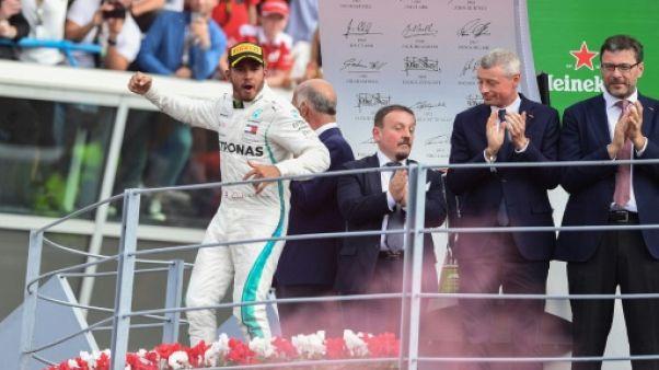 GP d'Italie: Hamilton dans le bonheur, Vettel dans l'erreur