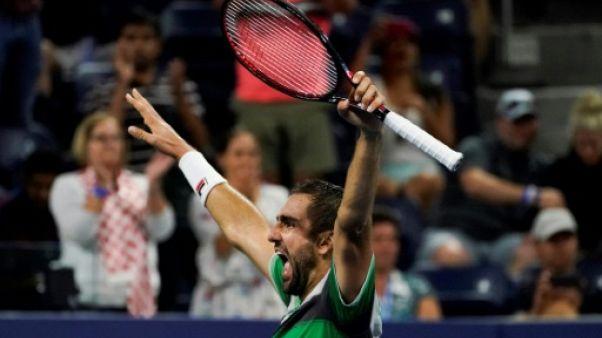 US Open: Cilic, mené 2 sets à 0, écarte De Minaur à sa 8e balle de match