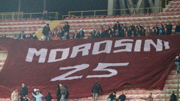 Pescara-Livorno, il ricordo di Morosini
