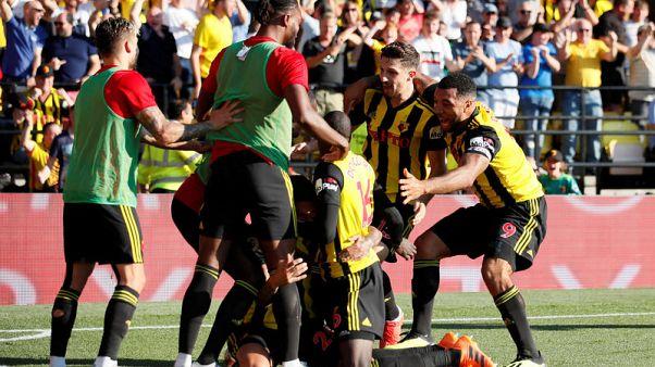 واتفورد يهزم توتنهام ليحافظ على سجله المثالي في الدوري الانجليزي