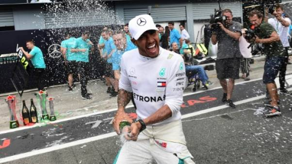 """Hamilton: """"cela fait partie de (mes) plus belles performances"""""""