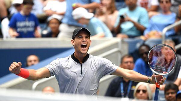 Thiem beats Anderson to reach first-ever U.S. Open quarter final