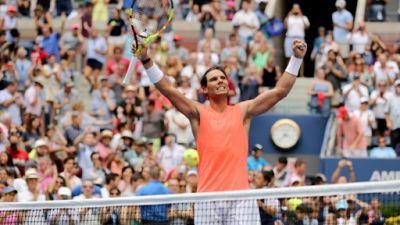 US Open: Nadal a renfilé le bleu de chauffe, Serena perd un set