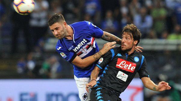 Napoli humbled at Sampdoria after Ancelotti tinkers