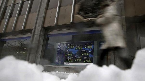 Global stocks still hooked on buybacks; trade war snaring more bulls - Reuters poll