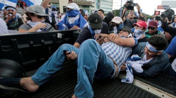Nicaragua: violents incidents à Managua, deux manifestants blessés par balle