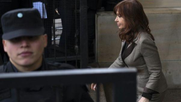"""""""Cahiers de la corruption"""": Kirchner à nouveau face au juge"""