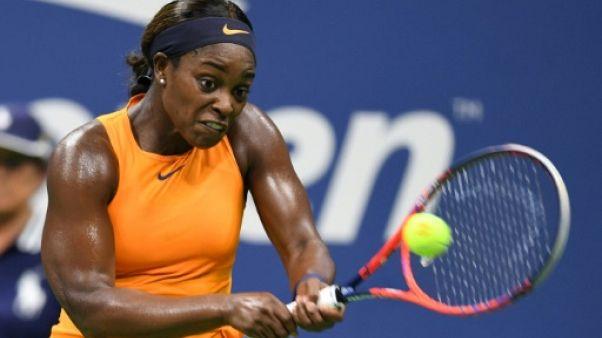 US Open: Stephens maîtrise Mertens et file en quarts de finale