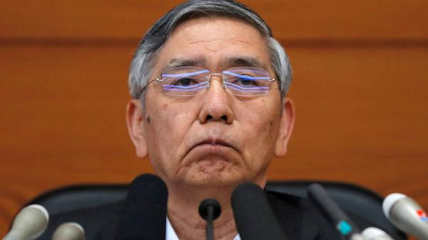 BOJ's Kuroda warns of risk from high-frequency trading
