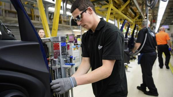 UK factories feel pinch from global economy as export orders fall - PMI