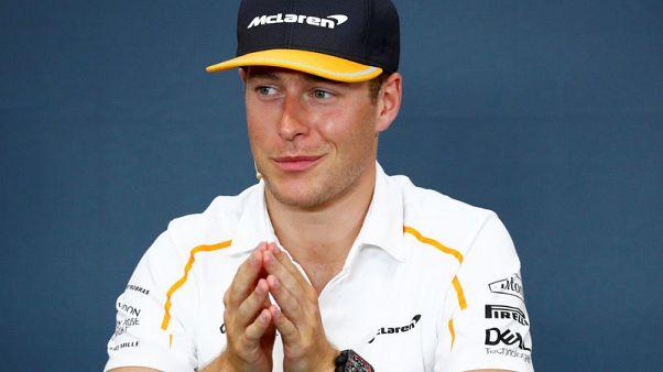 Vandoorne to leave McLaren at end of F1 season