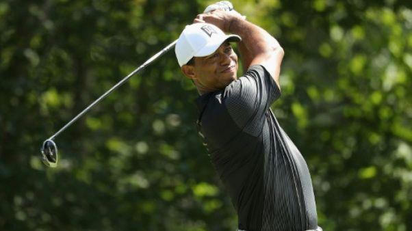 Tiger Woods au TPC de Boston à Norton le 2 septembre 2018