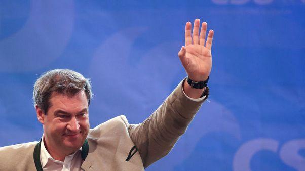 Bavarian premier backs ally Weber as centre-right EU leader